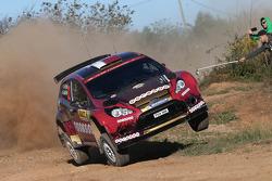 Nasser Al-Attiyah and Giovanni Bernacchini, Ford Fiesta RRC