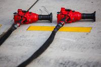 Ferrari pit stop air guns