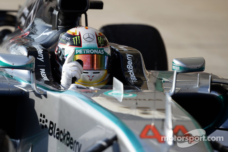 2014: Lewis Hamilton (Mercedes F1 W05)