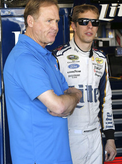 Rusty Wallace and Brad Keselowski, Team Penske Ford