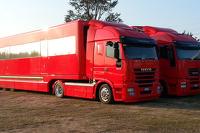 Scuderia Ferrari Paddock Building/Hauler