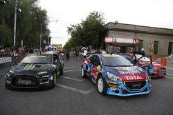 Rallycross cars take over San Luis