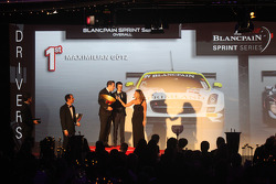 Blancpain Sprint Series-overall drivers podium