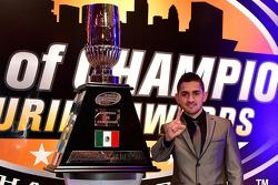 NASCAR Mexico Series champion Abraham Calderon