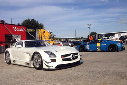 The new DragonSpeed Mercedes SLS AMG GT6