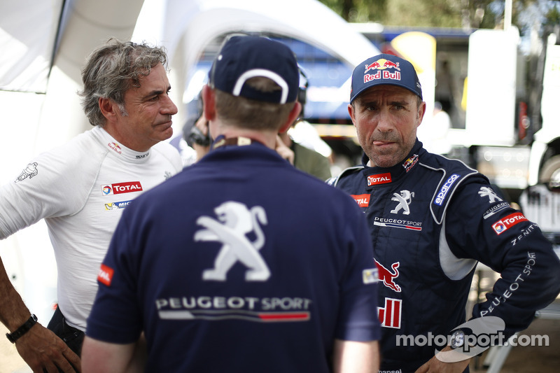 Carlos Sainz und Stéphane Peterhansel