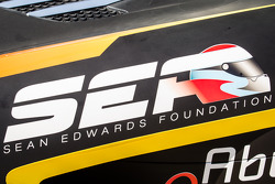 #14 Abu Dhabi Racing Black Falcon Mercedes SLS AMG GT3, Sean Edwards Foundation decal