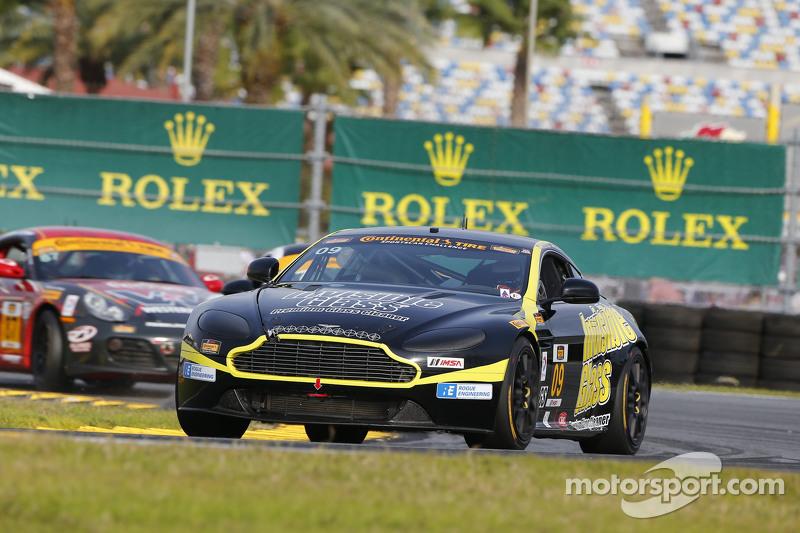 #09 Automatic Racing Aston Martin Vantage: Rod Randall, Ken Wilden