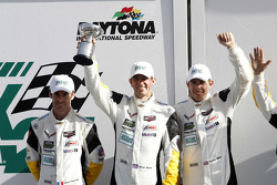 GTLM podium: third place Oliver Gavin, Tommy Milner, Simon Pagenaud