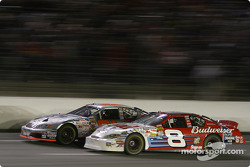 Robby Gordon battles with Dale Earnhardt Jr.