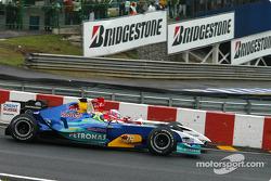 Felipe Massa and Jenson Button