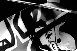 The radical livery of Anthony Davidson's BAR-Honda 006