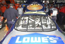 Lowe's Chevrolet garage area