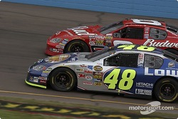 Jimmie Johnson and Dale Earnhardt Jr.