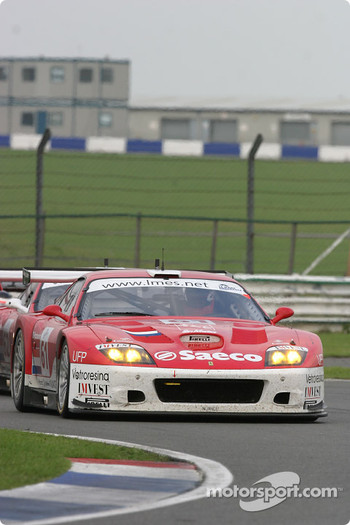 #61 Barron Connor Racing Ferrari 575 Maranello: Thomas Biagi, Danny Sullivan, John Bosch