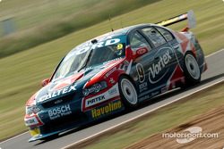 Russell Ingall stretching out