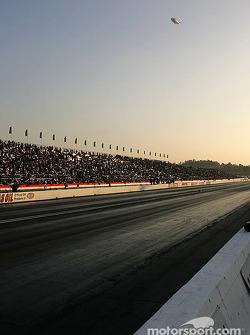 Fans at Pomona Raceway