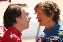 Greg Thompson as Darrell Waltrip and Barry Pepper as Dale Earnhardt