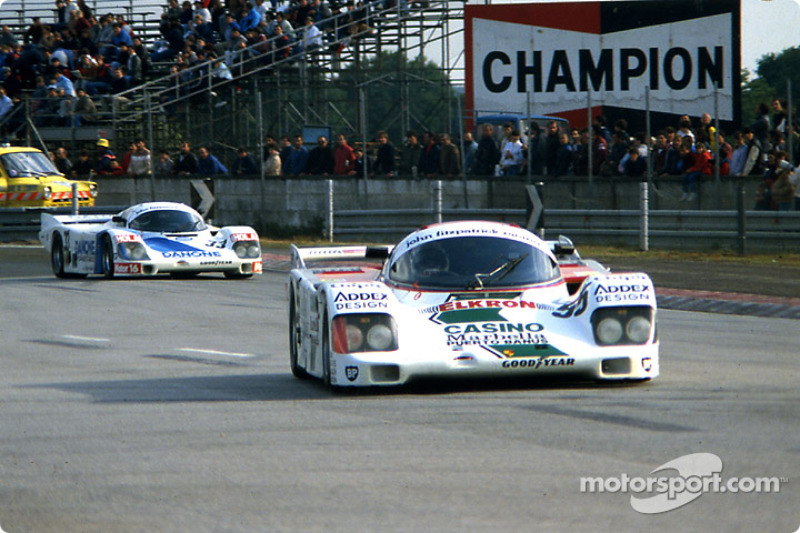 #55 John Fitzpatrick Racing Porsche 962C: Philippe Alliot, Michel Trollé, Paco Romero