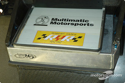 Detail of #49 Multimatic Motorsports Ford Multimatic engine