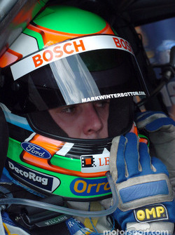 Mark Winterbottom ready for the warm up