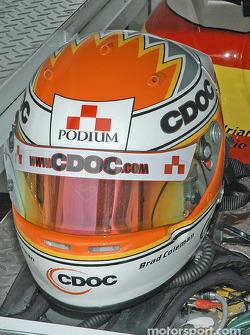 Brad Coleman's helmet