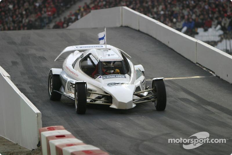 Quarter-final: Heikki Kovalainen