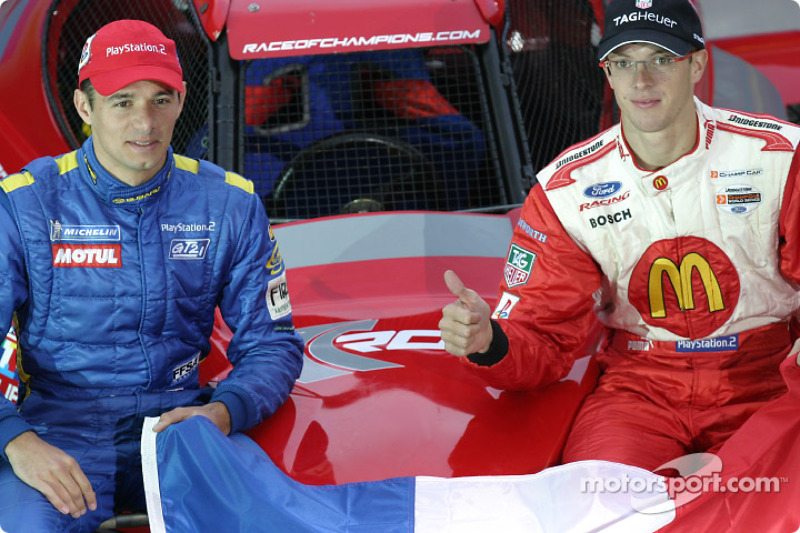 Team France Playstation: Stephane Sarrazin and Sébastien Bourdais