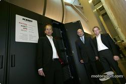 Peter Sauber and Albert