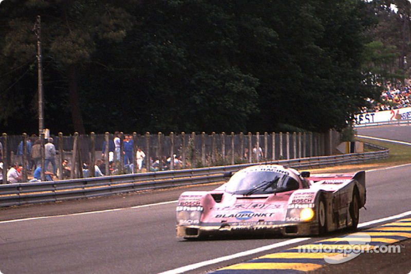 #7 Joest Racing Porsche 962C: Frank Jelinski, Pierre-Henri Raphanel, John Winter