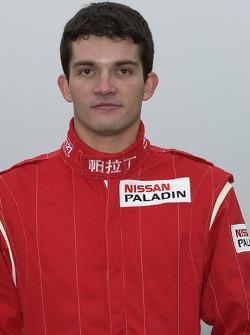 Nissan Dessoude team presentation: Fabian Lurquin
