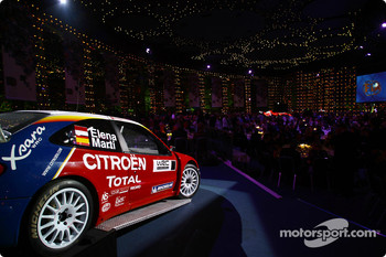 The Citroën Xsara WRC at the 2004 FIA Awards