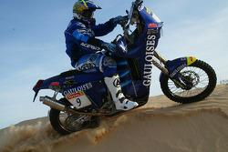 KTM team testing: Gauloises KTM rider Jean Brucy
