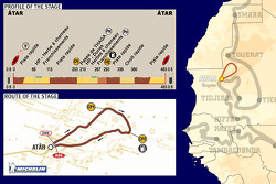 Stage 10: 2005-01-10, Atar to Atar