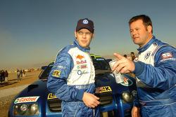 Dirk von Zitzewitz and Robby Gordon