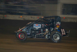 Tracy Hines pops a wheelie when winning the 2005 Chilli Bowl