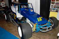 1980 Sportsman Dirt Car. Raced at Bridgeport from 1979 through 1990 by Wayne Weaver (original builder, with Paul Weaver and Tom Ballard), Dan Reick, John Morris and Ted Grieves.