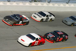Kasey Kahne, Matt Kenseth, Derrike Cope and Sterling Marlin
