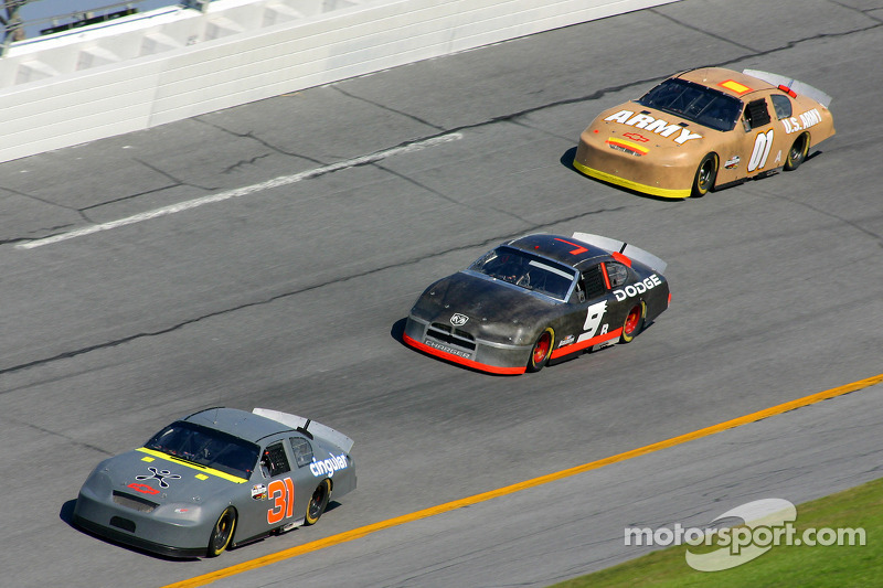 Jeff Burton, Kasey Kahne and Joe Nemechek