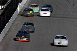 Kasey Kahne and Jeff Green lead the pack