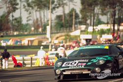 #50 TWR Jaguar Racing Jaguar XJ220 C: John Nielsen, David Brabham, David Coulthard
