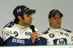 Antonio Pizzonia and Nick Heidfeld