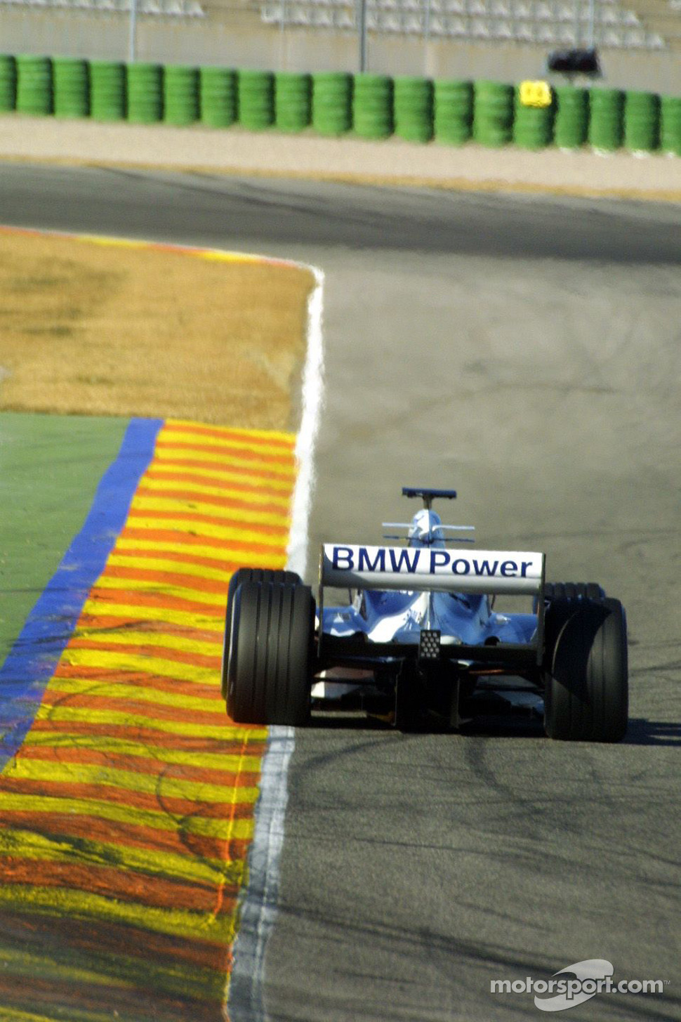 Nick Heidfeld tests the new Williams BMW FW27
