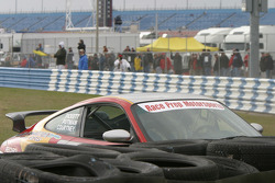 #78 Race Prep Motorsports Porsche 996: Charles Putman, Jeff Courtney, Mike Pickett in trouble