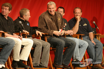 Bud Shootout pole winner Dale Jarrett