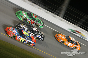 Jeff Gordon, Rusty Wallace, Bobby Labonte and Tony Stewart