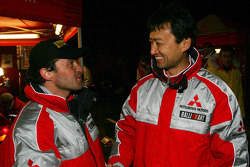 Gianluigi Galli and Isao Torii