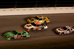 Bobby Labonte, Dale Jarrett, Jeremy Mayfield and Dale Earnhardt Jr.