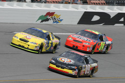 Johnny Sauter, Kyle Busch and Jeff Gordon