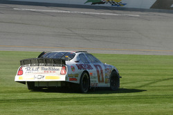 Kertus Davis spins in the last lap